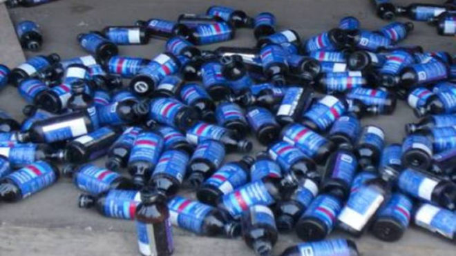 Bengal: BSF seized 3,045 bottles of banned cough syrup