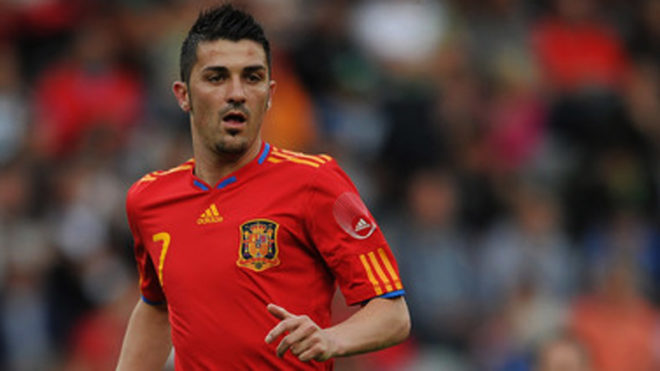 David Villa delighted to be back with Spain football squad