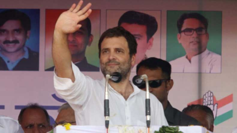 Karnataka poll: Rahul Gandhi bets on Congress' win