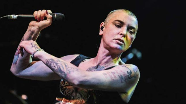 Singer Sinead O'Connor says she's suicidal