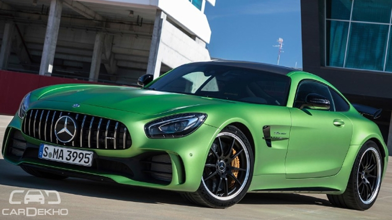 Mercedes launches AMG GT R, GT Roadster in India