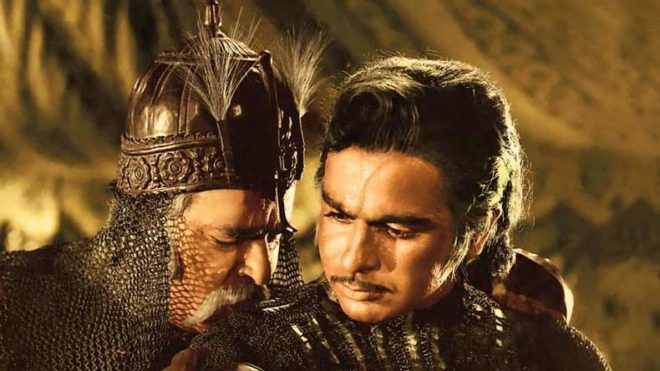 Rare six-sheet 'Mughal-e-Azam' poster acquired by film archives