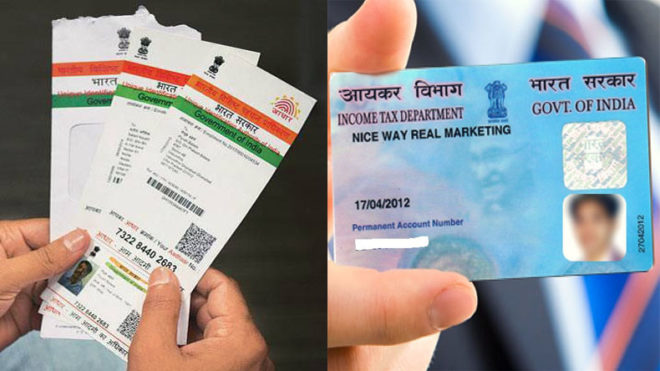 Link your Aadhar Card with PAN by 31st August with these steps
