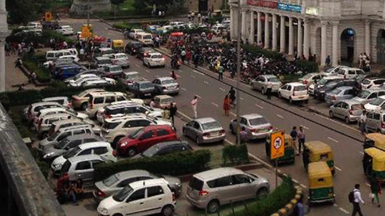 No parking at Delhi Metro stations on Independence Day