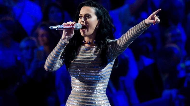 Did not enjoy my first kiss: Katy Perry
