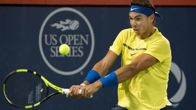 Rafael Nadal sits on top in ATP rankings for 2nd consecutive week
