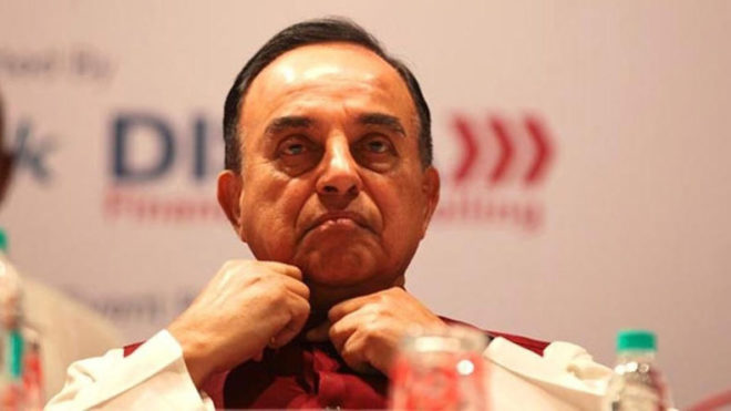 Subramanian Swamy to file PIL in Chandigarh stalking case