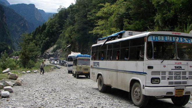2 killed as live wire falls on bus in Uttarakhand