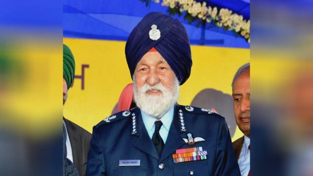 Marshal of IAF Arjan Singh passes away after suffering a heart attack