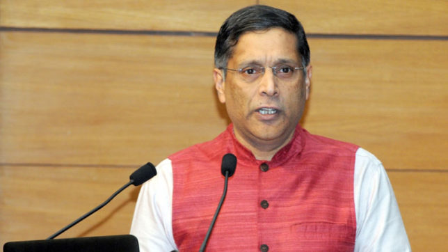 CEA Arvind Subramanian meets PM Narendra Modi to brief on economy