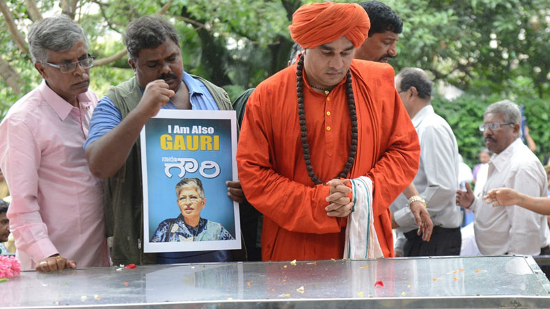 Journalist Gauri Lankesh laid to rest; SIT formed as condemnation pours in