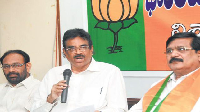 Andhra BJP chief K Haribabu to be inducted into Cabinet: Sources