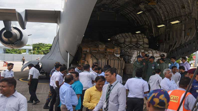 IAF delivers relief for Rohingyas in Bangladesh, more sorties planned