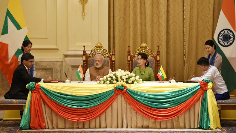 India, Myanmar condemn terrorism in all its forms