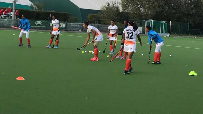 Indian hockey eves lose third match of Europe tour against Ladies Den Bosch