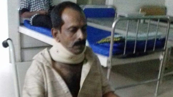Kerala journalist Sajeev Gopalan hospitalised after alleged cop brutality
