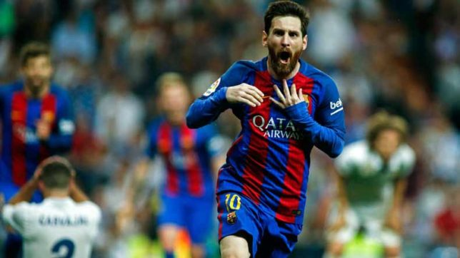 Messi, Suarez score as Barcelona thrash Levante