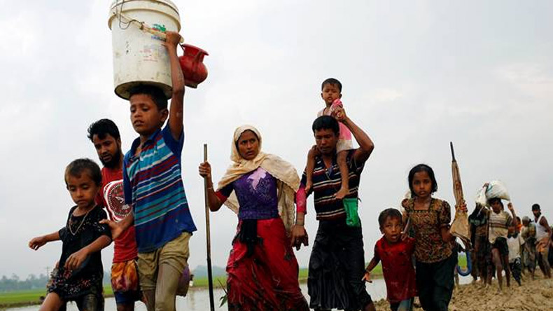 At least 123,000 Rohingyas have crossed into Bangladesh, claims UN