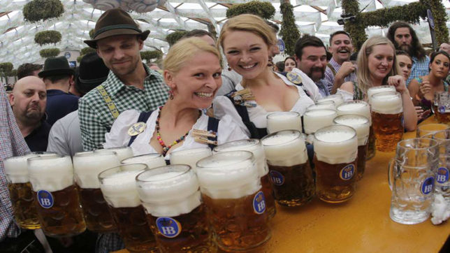 Munich Oktoberfest begins amid strict security measures