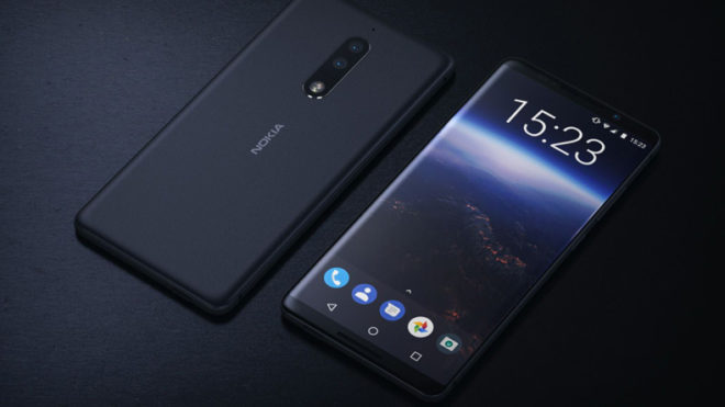 Nokia 9 may come with bezel-less, 3D glass display