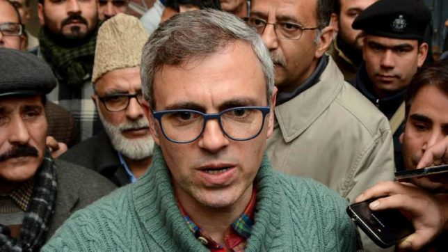 Attack on Article 35A because NC is out of power: Omar Abdullah