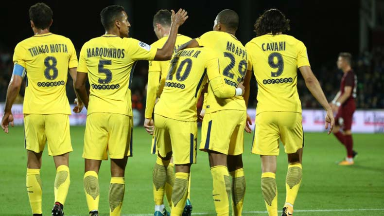 Ligue 1: Kylian Mbappe shines bright in debut as PSG mauls Metz 5-1