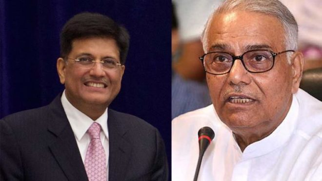 After Yashwant Sinha's economy in 'mess' remark, Piyush Goyal says Center's pro poor