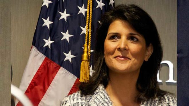 UN options exhausted on Korean Peninsula issue: Nikki Haley