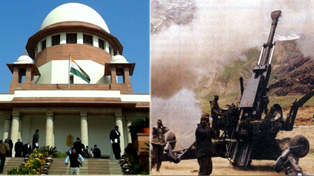 Supreme Court agrees to hear Bofors case in October