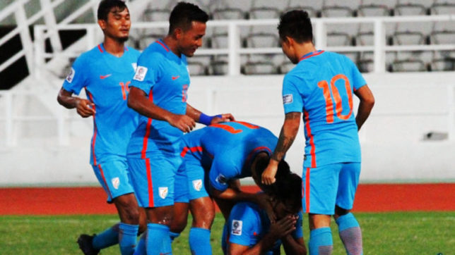 Balwant Singh's brace inspires India to a 2-0 victory over Macau in AFC qualifiers