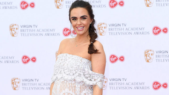 Jennifer Metcalfe likens pregnancy to nine-month hangover