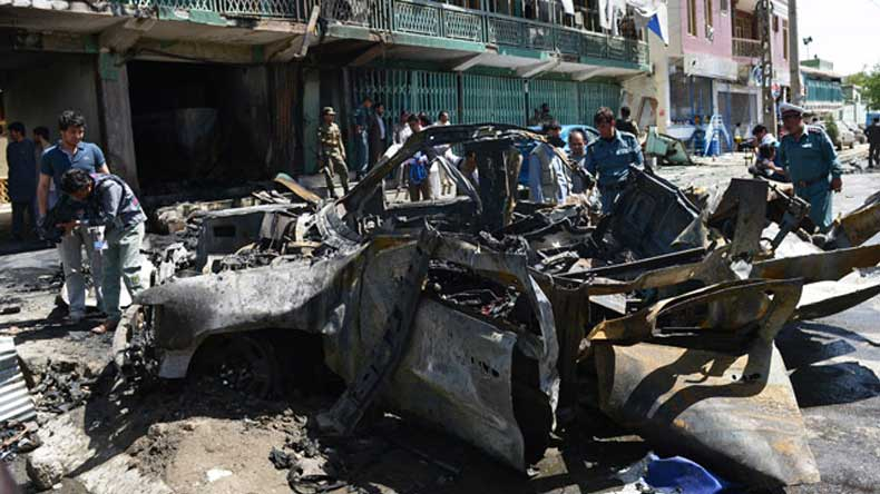 Kabul: At least 3 killed, 5 injured in suicide attack