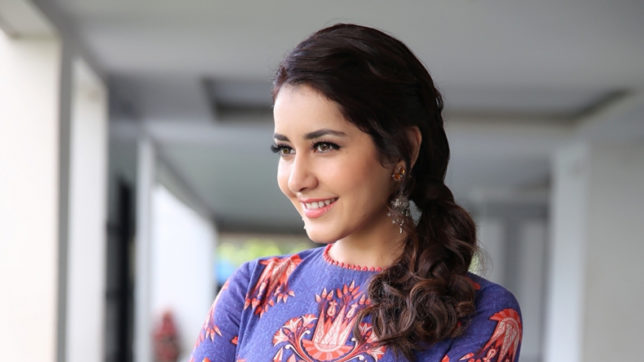 Raashi Khanna to make special appearance in 'Raja The Great'