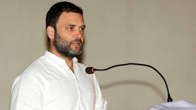 BJP's ideology is to crush dissent: Rahul Gandhi
