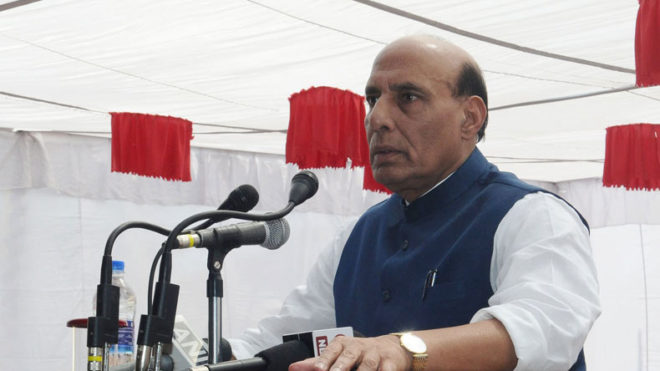 Rohingyas are illegal immigrants not refugees, says HM Rajnath Singh