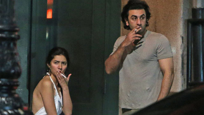 Hottie alert! Ranbir Kapoor and Mahira Khan spotted together in NYC
