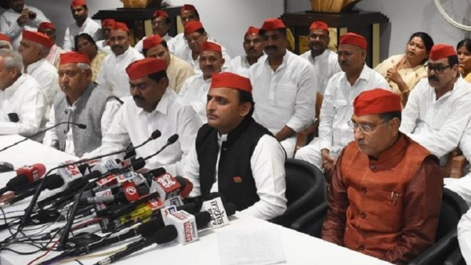 UP: Indrajeet Saroj and 90 other rebel leaders quit BSP to join Samajwadi Party