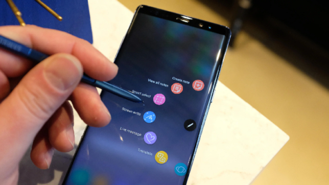 Samsung unveils Galaxy Note8 at Rs 67,900