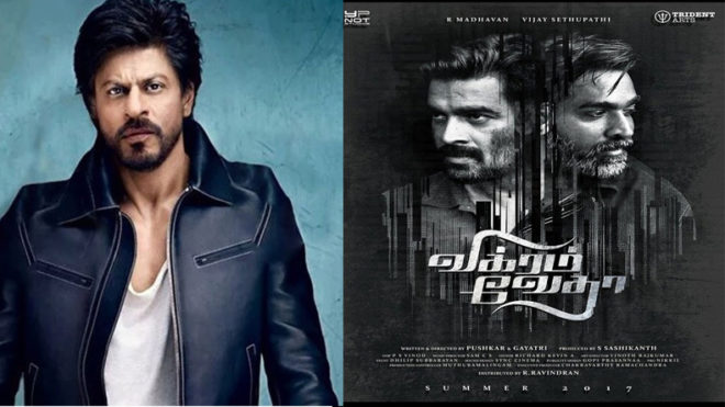 Shah Rukh Khan to play lead role in 'Vikram Vedha' Bollywood remake