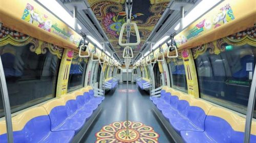 Diwali 2017: This metro train in Singapore dedicated to Diwali will blow your mind