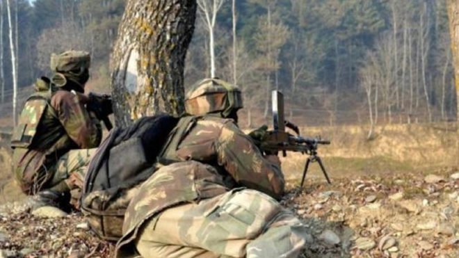 J&K 2 Terrorists gunned down in encounter with security forces in Hajin area of Bandipora