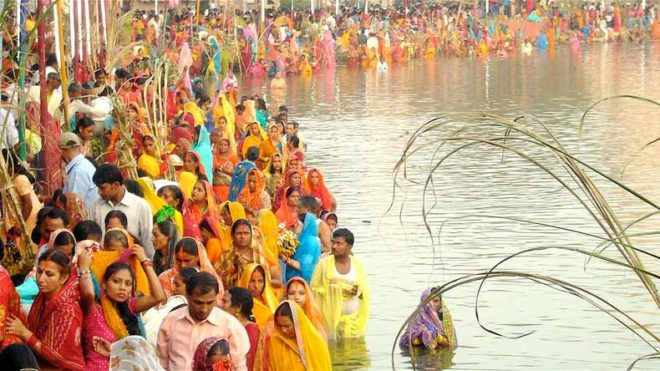 Minister checks Chhath Puja preparations