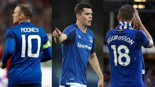 Poor Everton's summer splurge of 150 million euros down the drain?
