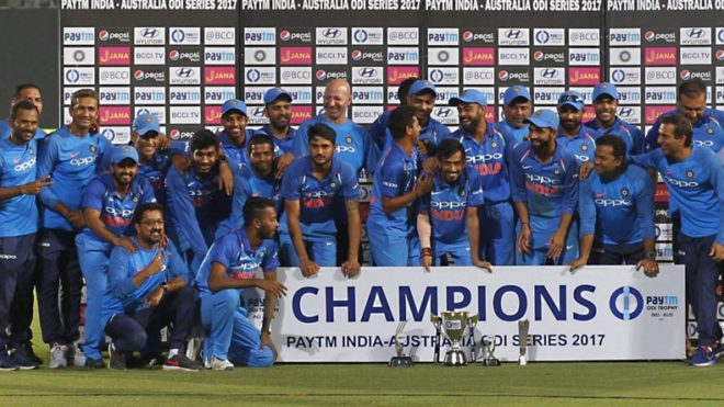 Team is solid and future is bright: Rohit Sharma on winning series by 4-1 against Australia