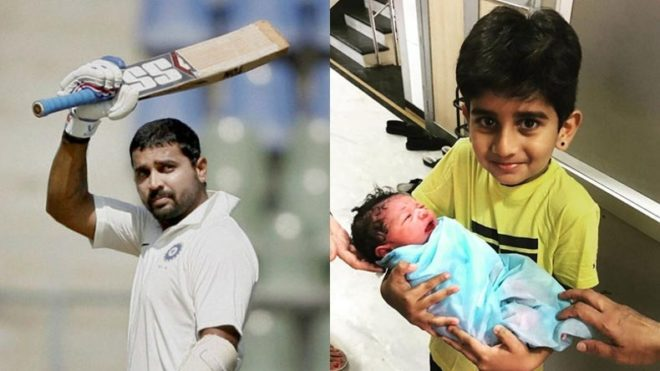 Murali Vijay blessed with third child; shares endearing 'rockstar' pic on Twitter
