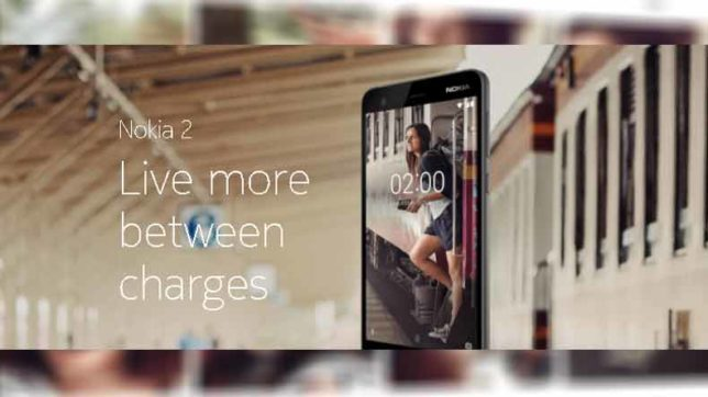 Nokia 2 launched in India with 2-day battery life: Know full specifications, features, price and more