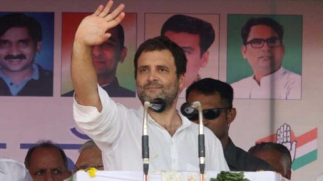 Rahul Gandhi gives an EPIC reply to Vijendra Singh's marriage question