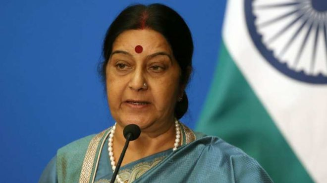 Sushma Swaraj's Diwali Gift To A Pakistani Boy Has Made Everyone Proud