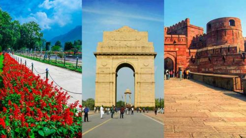Agra Fort, India Gate and other monuments built by foreign rulers