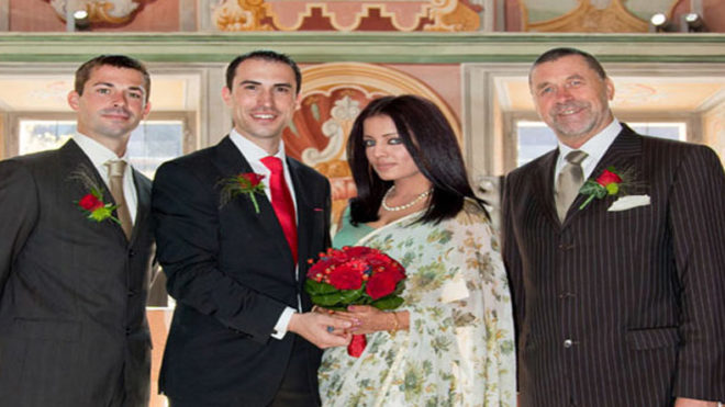 Actress Celina Jaitly gives birth to twin boys, one dies due to serious heart condition